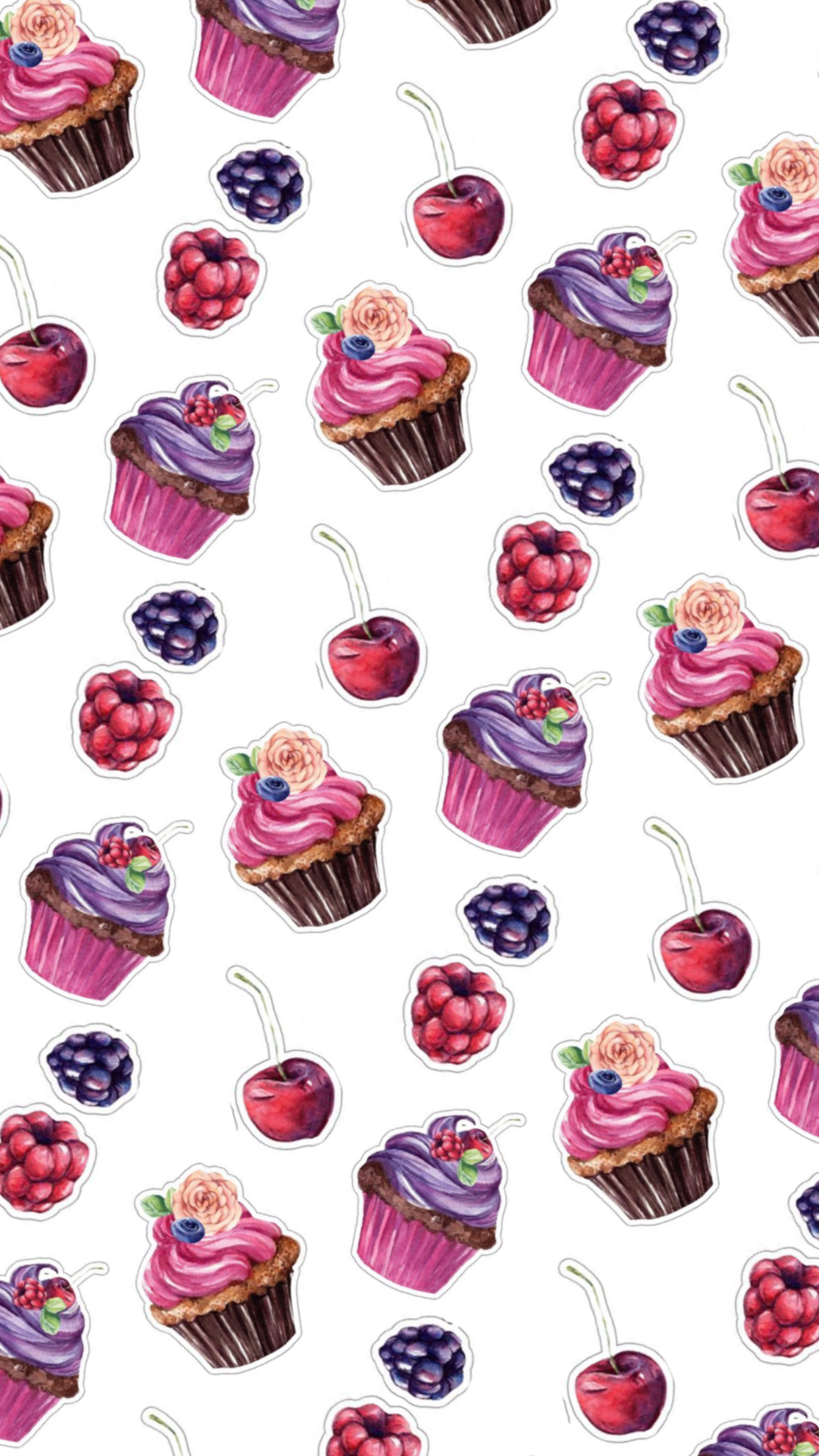 Pin By Roberta Nardin On Wallpapers Cupcakes Wallpaper Iphone Wallpaper Wallpaper Iphone Cute