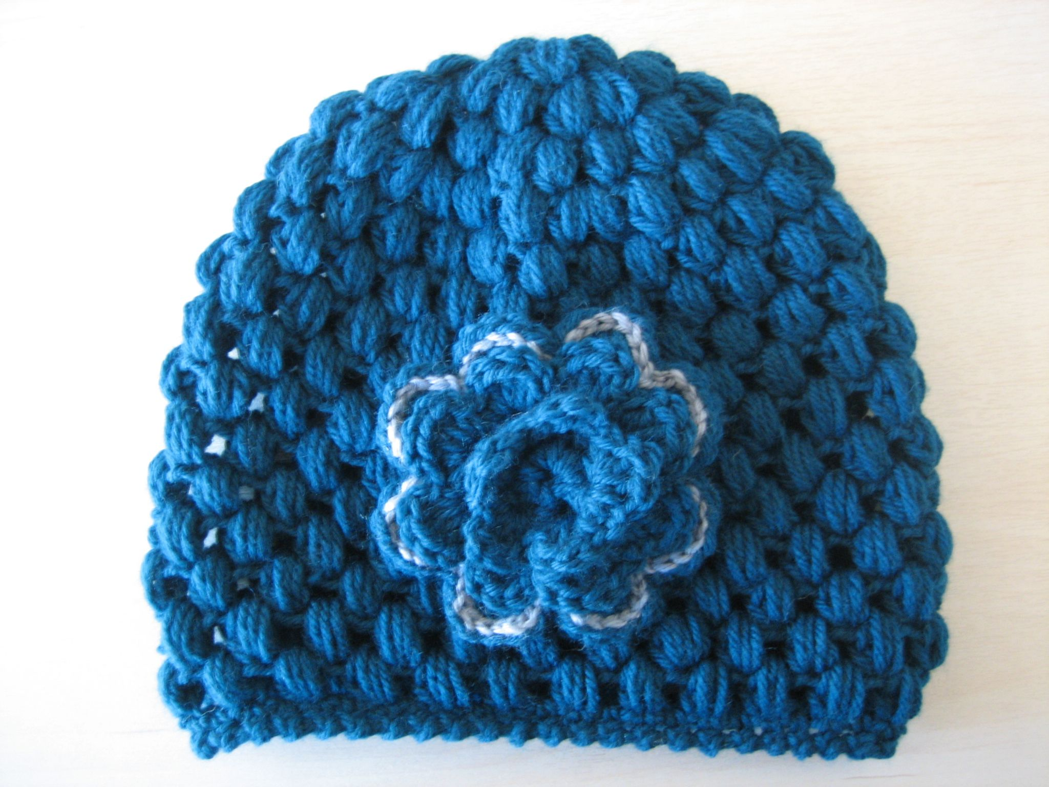 To see how to make this puff stich hat go to crochet geek video to see how to make this puff stich hat go to crochet geek video tutorial at baditri Image collections