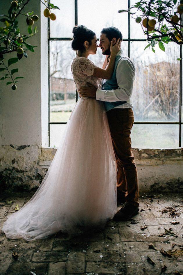 Marrying Monet Beautiful Artistic Wedding Inspiration Shoot
