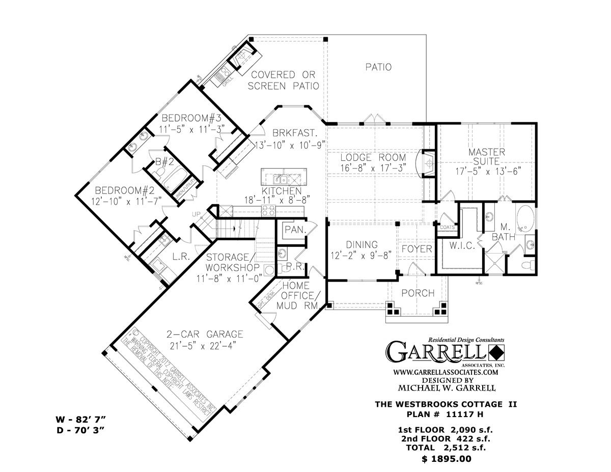 Ranch House Open Floor Plans