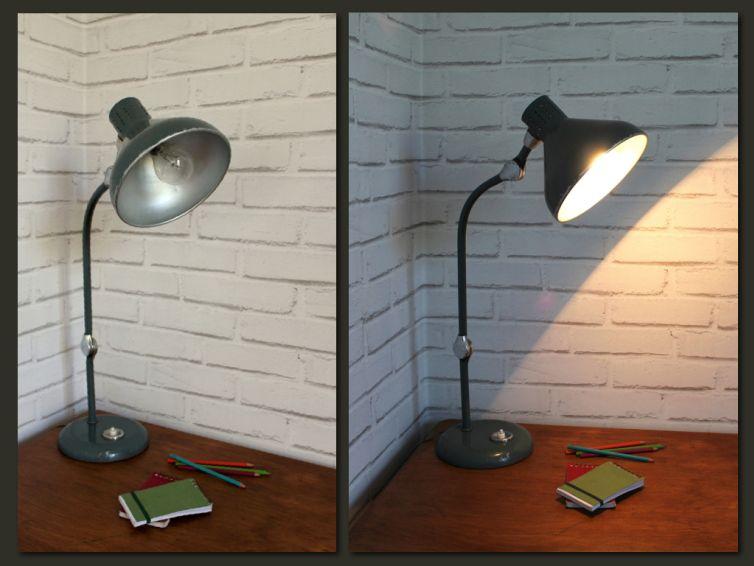 Lampe De Bureau Jumo Vintage Les Jolies Lumieres Pinterest