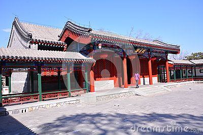 These China Ancient Buildings Filmed In Beijing Xiangshan The Building Was Built In 1664 Ancient Architecture Ancient Chinese Architecture Ancient Buildings