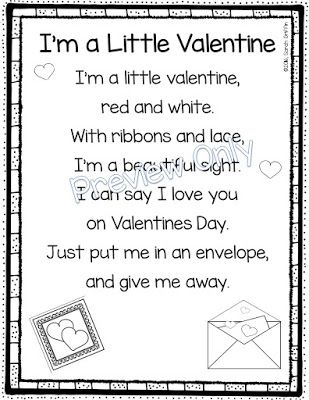 5 valentine's day poems for kids | poetry.fun | pinterest | poem, Ideas