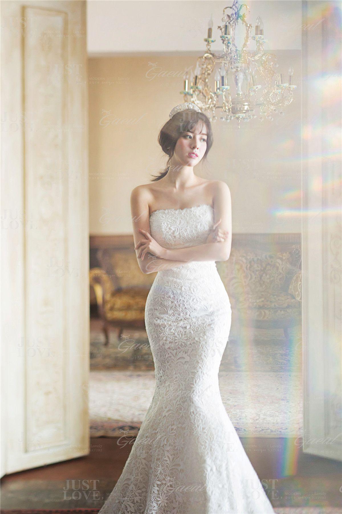 Korean studio prewedding photography classic u vintage wedding