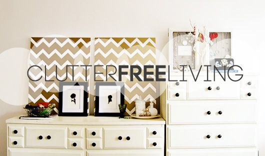 Clutter Free Living   I Aim To Be Like This!