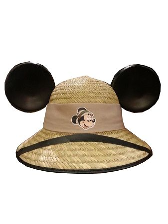 95b4d2b64e360 Disney Hat - Safari Mickey Mouse Wicker Ear Hat in 2019