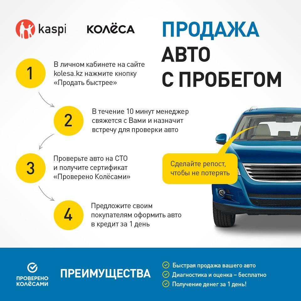 условия кредитования авто в каспи банке