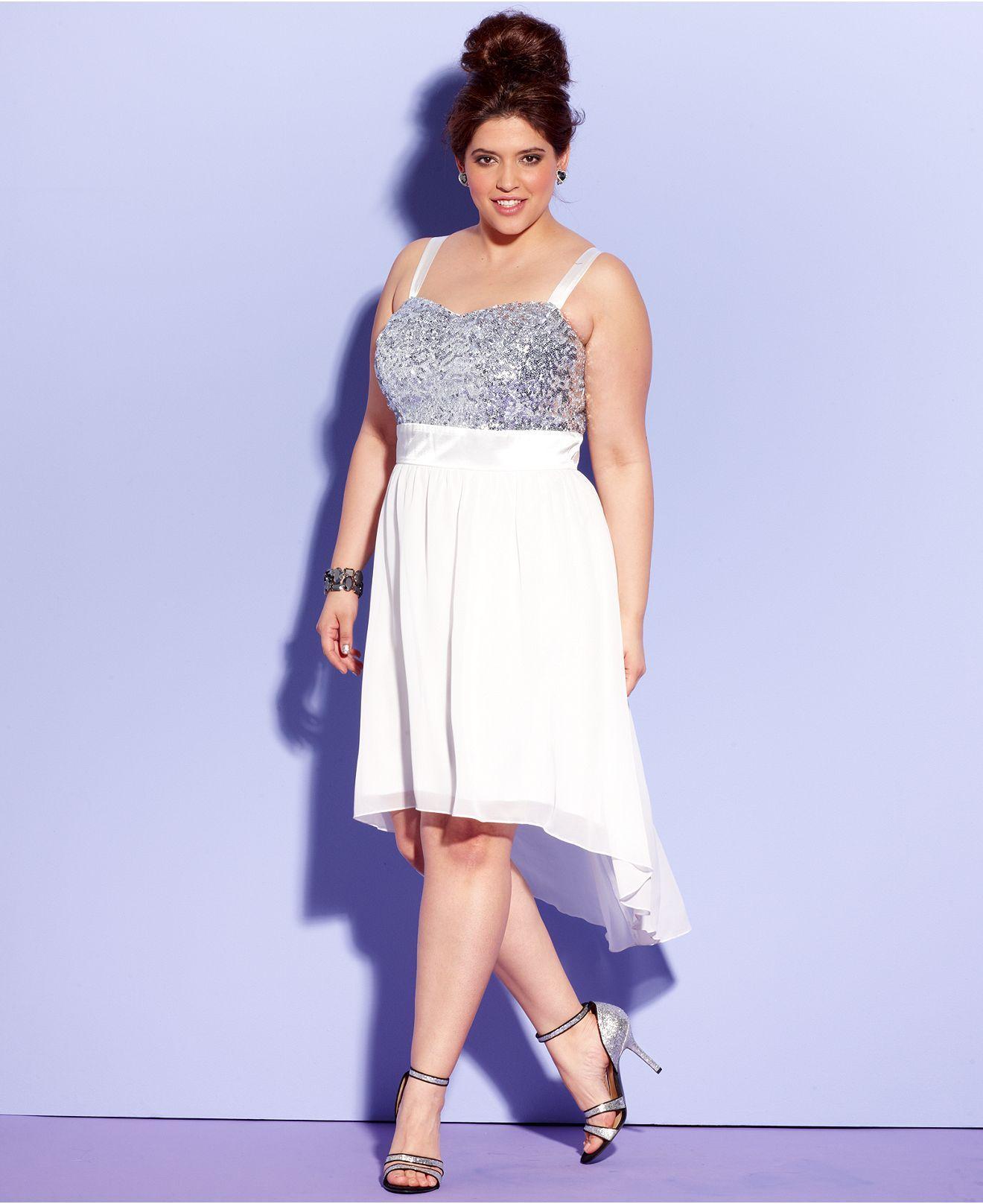 macys prom dresses plus size - Heart.impulsar.co
