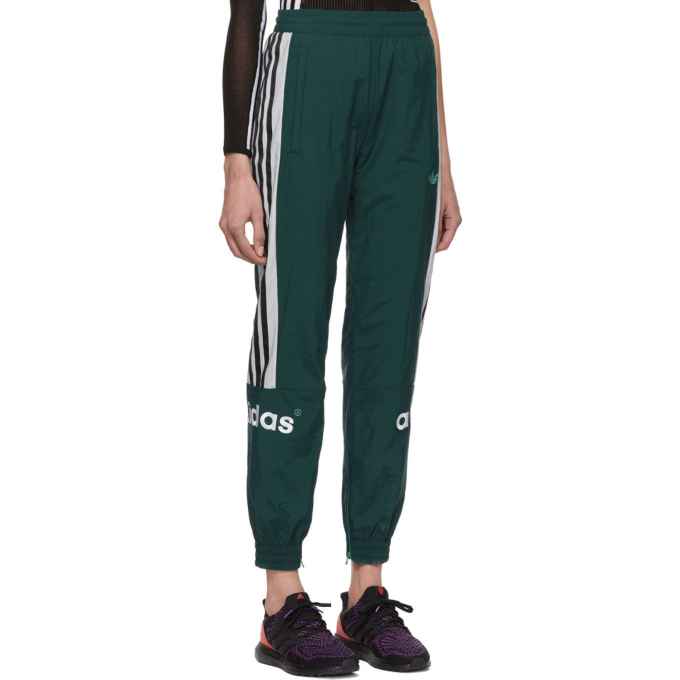 adidas Originals: Green 92 Archive Track Pants | SSENSE