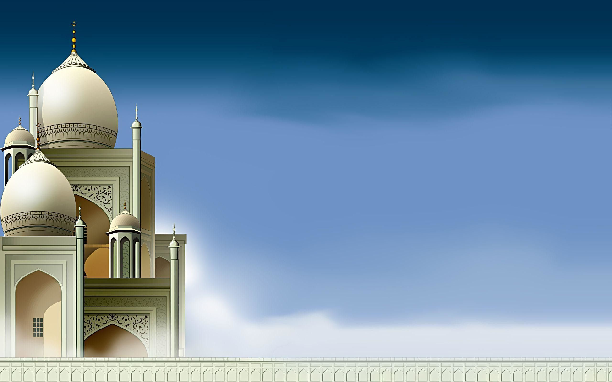 Mosque Islamic Background Hd