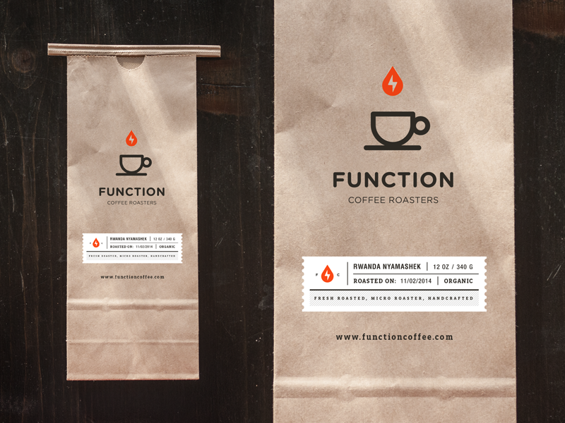 Function Coffee Bag by Salih Kucukaga/ Stamped Packaging