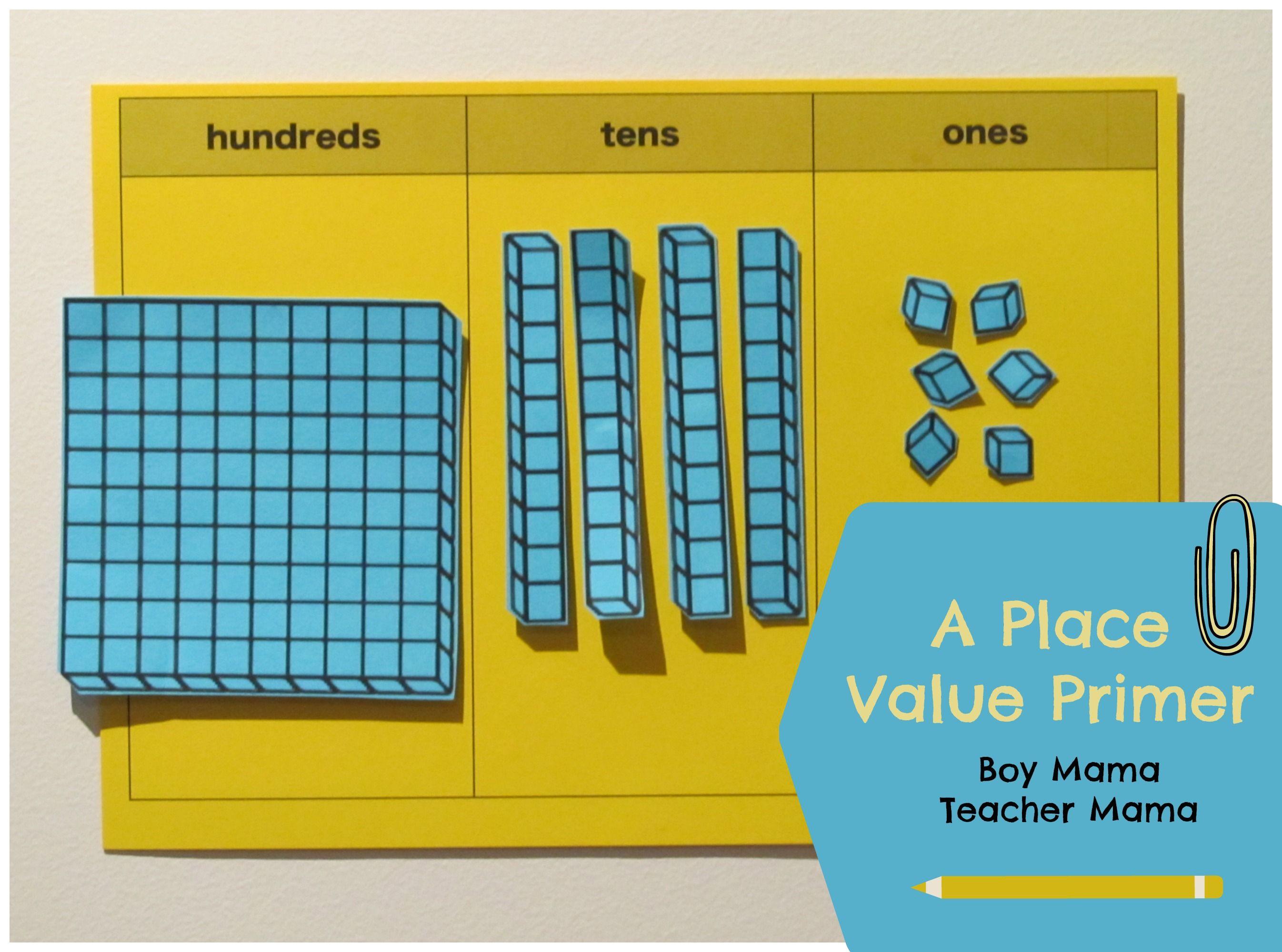 Teacher Mama Place Value Primer