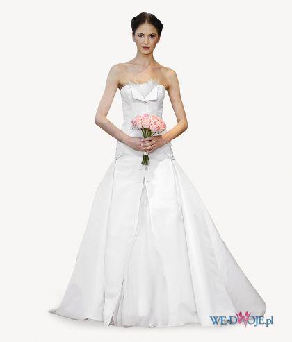 Suknia ślubna Carolina Herrera #slub #wesele #wedding #sukienki
