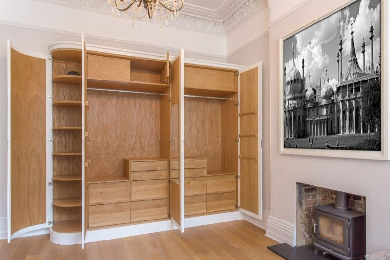 All Our Wardrobes Are Custom Built By Skilled Craftsmen In Our Brighton Work Shop Which You Are Welcome At Any Oak Wardrobe Fitted Bedroom Furniture New Homes