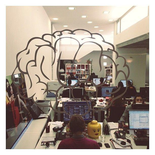 La oficina tras el cerebro