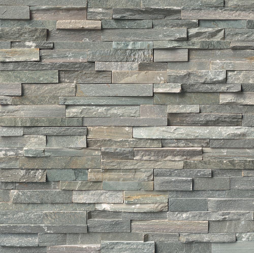 Change The Look Of Your Home Decor With This MS International Sierra Blue  Ledger Panel Natural Quartzite Wall Tile.