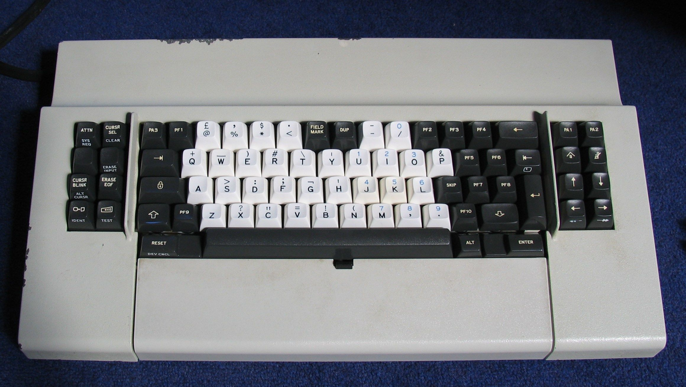 Photos Ibm 3276 Data Entry Keyboard Deskthority Keyboard Ibm Old Computers