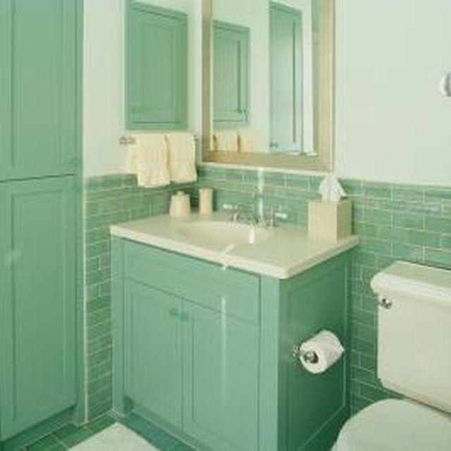 How to Paint Tile   House updates   Pinterest   Bathroom ...