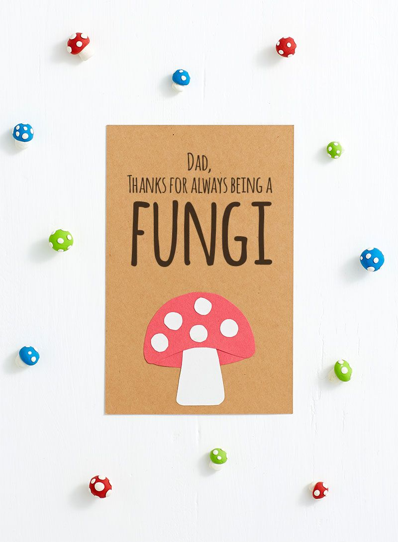 Clever Printable Fathers Day Cards Sharis Berries Pinterest
