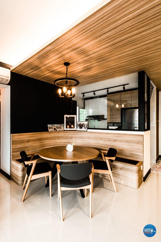 Bedroom Hdb Furniture: Tiny Dining Rooms, Minimalist