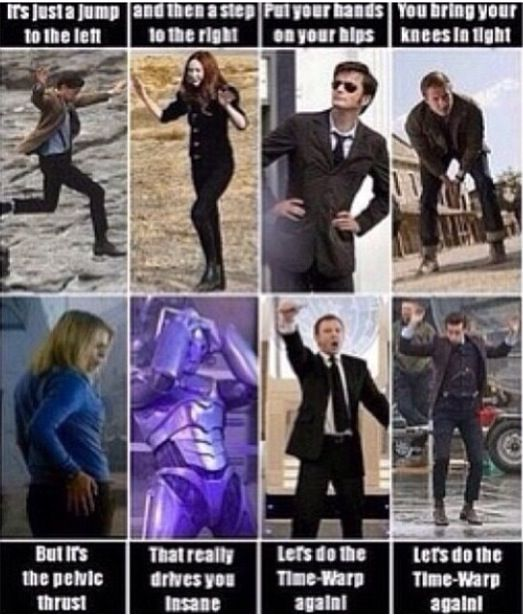 Do the time warp!
