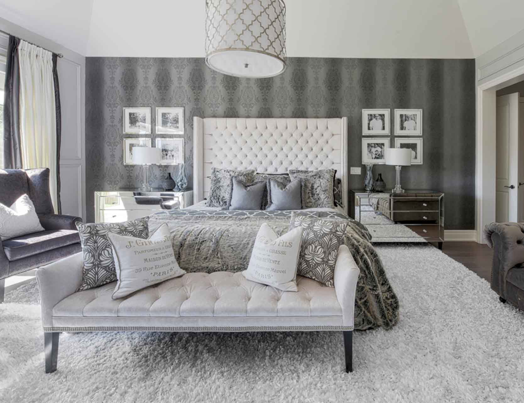 Cozy Bedroom Beautiful Bedroo White Bedroom Stylish Art Deco