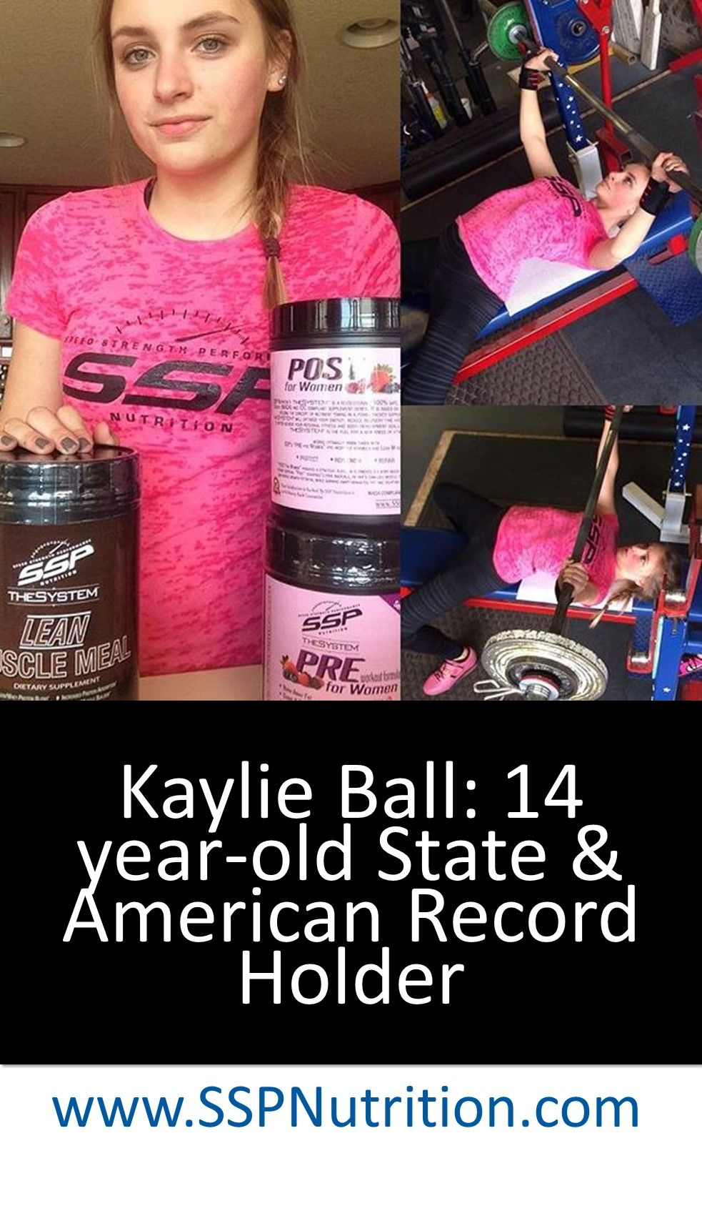 WOW! Kaylie Ball has been competing since 11 years old