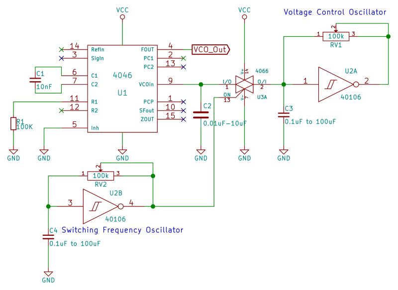 Logic Noise 4046 Voltage Controlled Oscillator Part One Voltage Controlled Oscillator Electronics Basics Noise