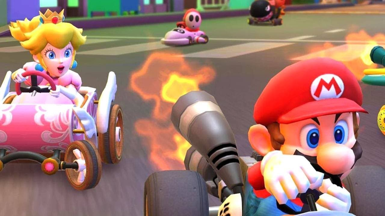 Mario Kart Tour is a kart racing mobile game and a spin