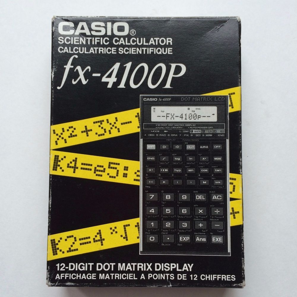 casio calculator instruction manual