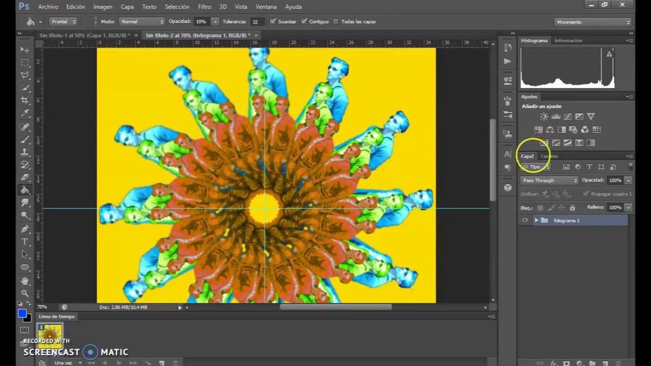 PHOTOSHOP. herramientas de transformación y animación. | Photoshop y ...