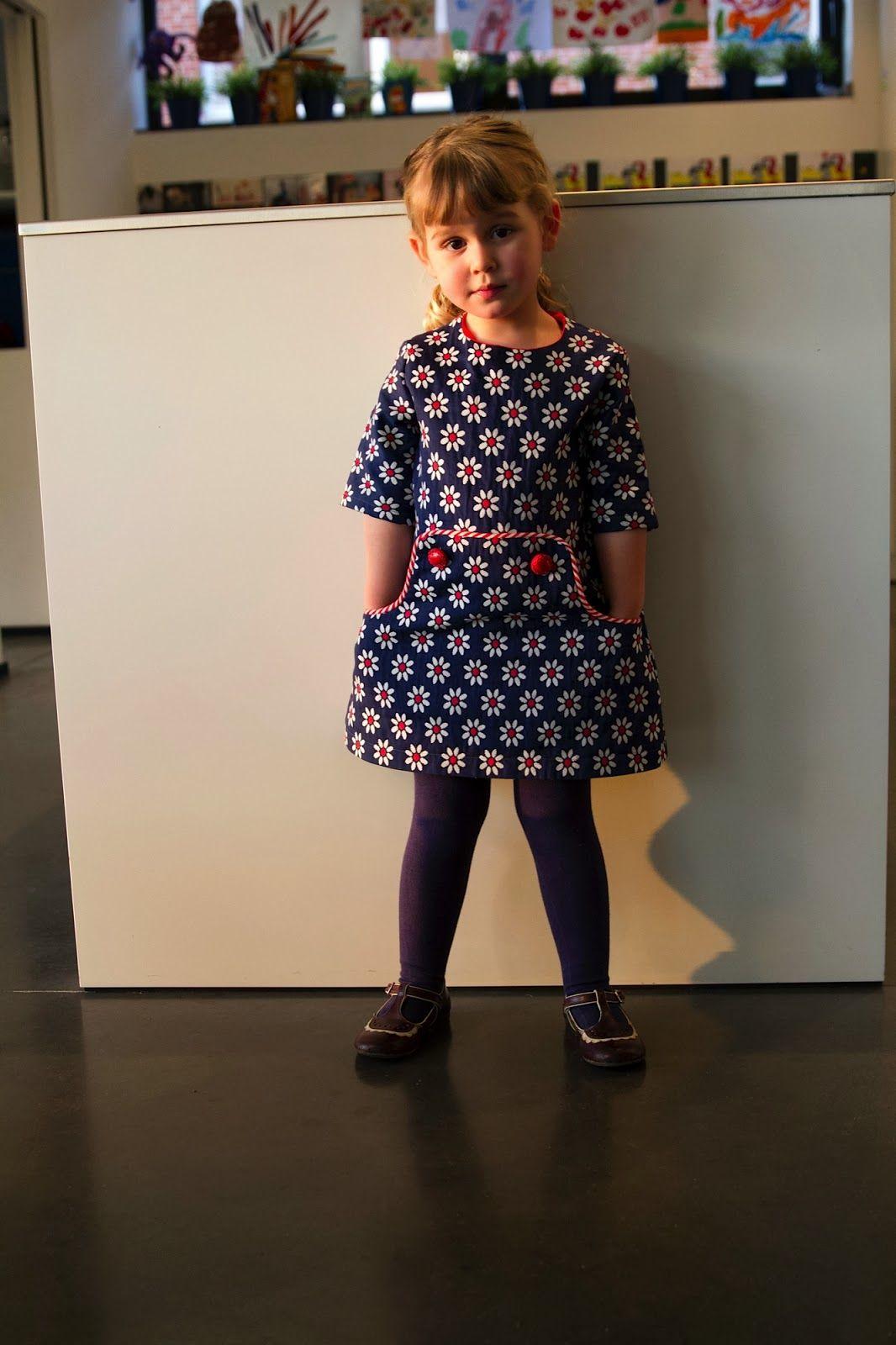 Pied de Poule by Miss Lizz - Louisa Dress | luisa dress | Pinterest