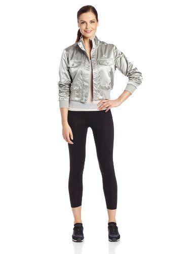 PUMA Women's Satin Bomber Jacket $28.27