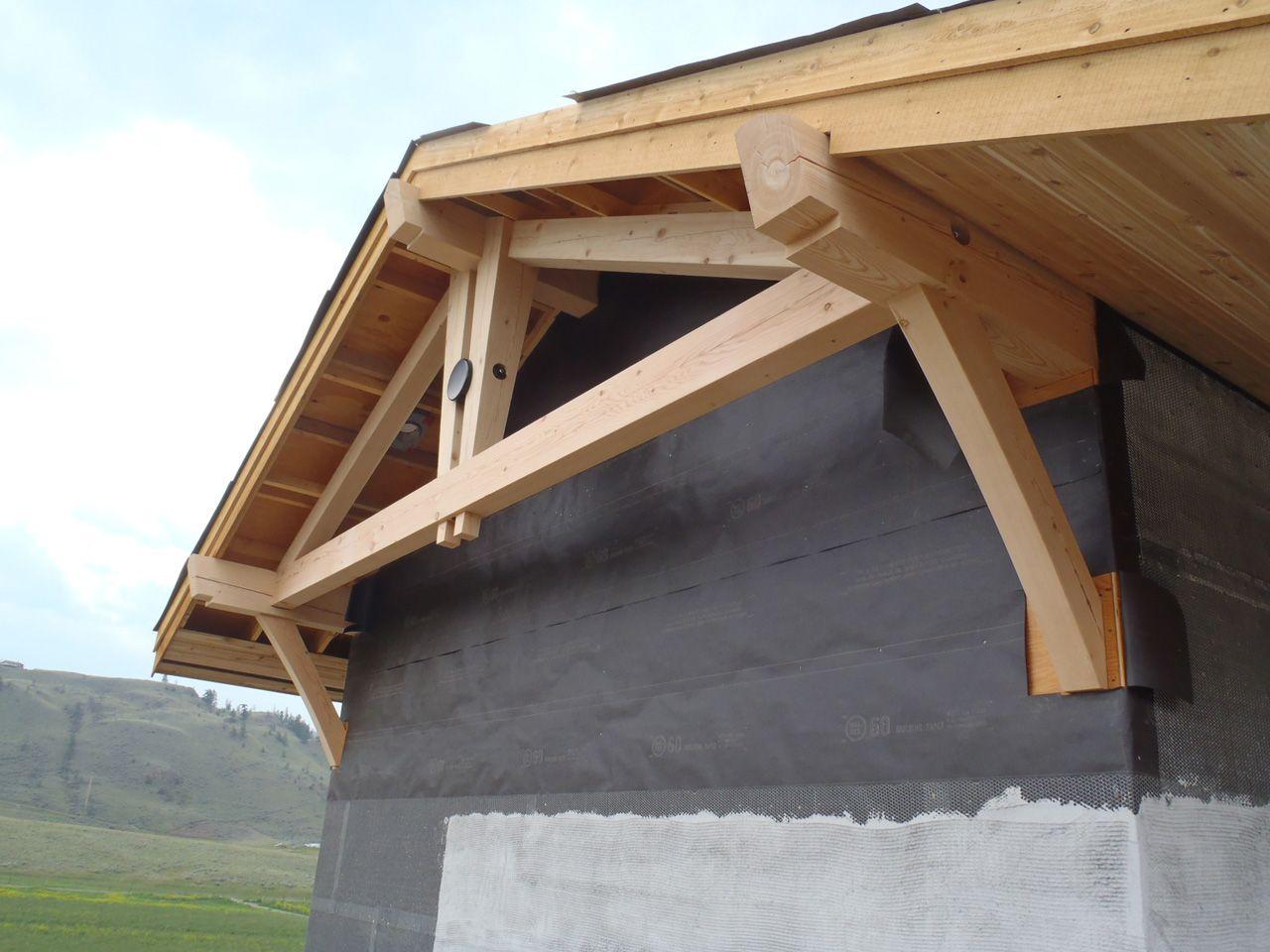 Timber Frame Gable End Detail