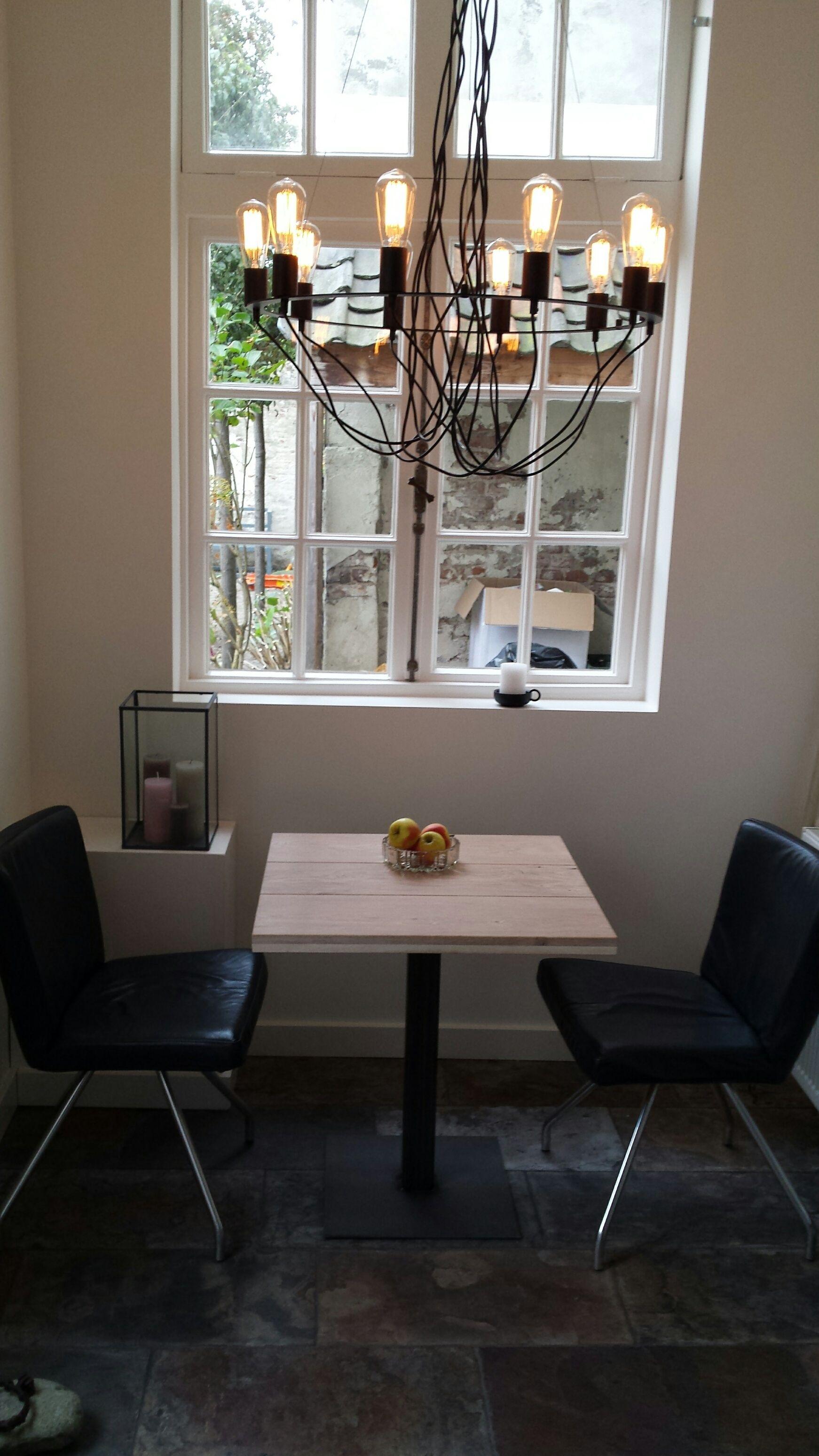 Eettafel Twee Personen.Pin Van Design85 Op Industriele Tafels Table Dining Table En Dining