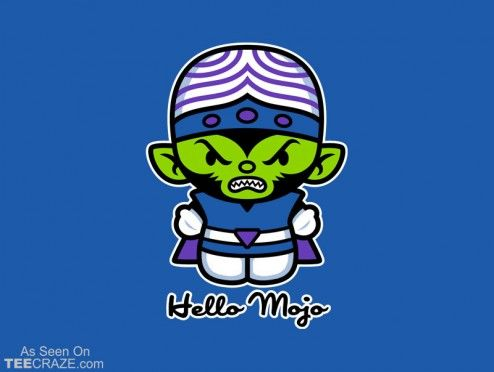 Hello Mojo T-Shirt Designed by harebrained  Source: http://teecraze.com/