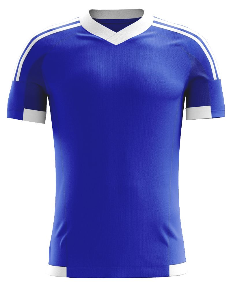 brand new 5e781 5612e Royal Blue Blank Soccer Jersey. This can be customize ...