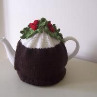 """Christmas Pudding"" Tea Cosy"