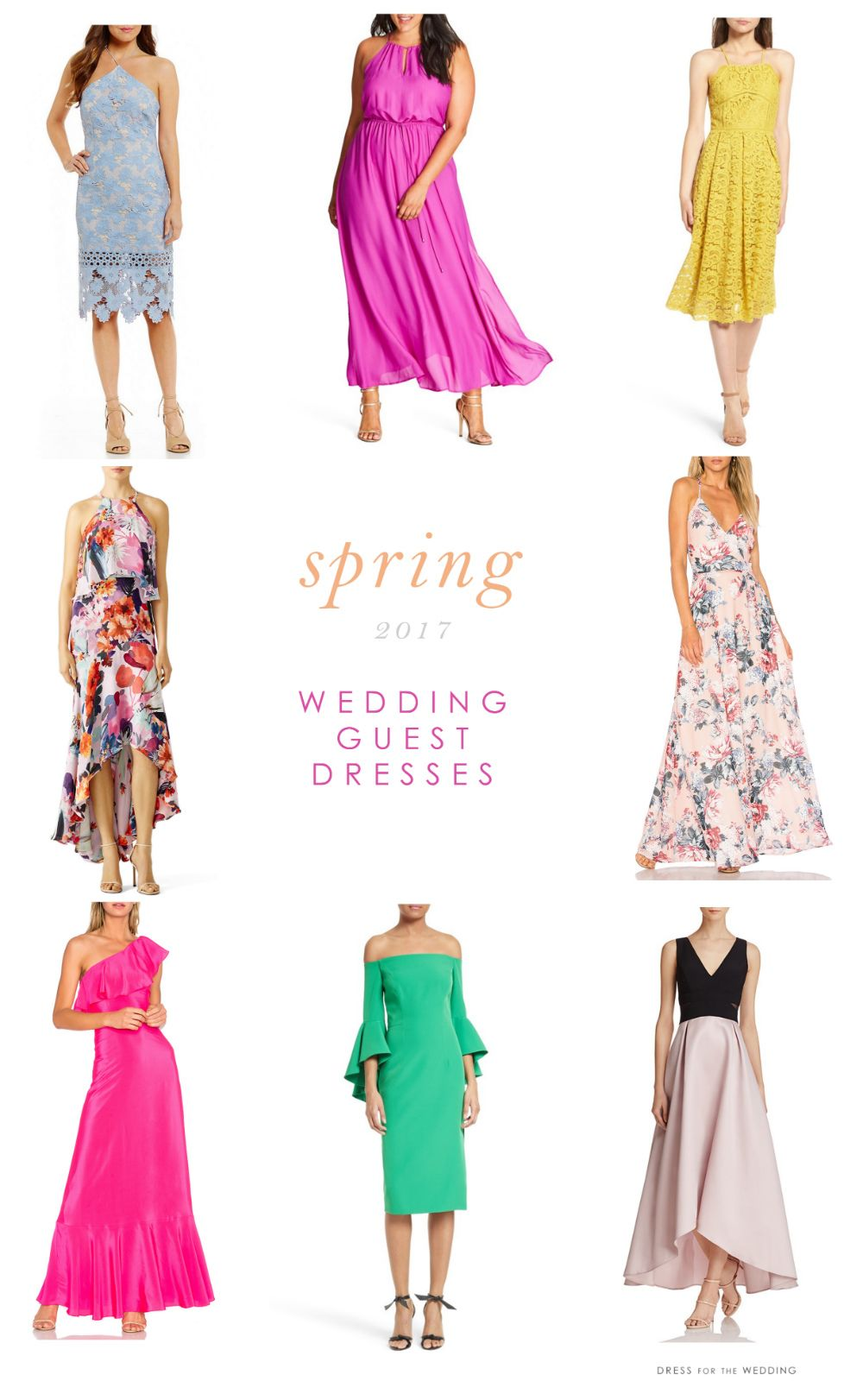Beautiful Dresses To Wear As A Wedding Guest Dress For The Wedding Spring Wedding Guest Attire Wedding Guest Dress Wedding Attire Guest