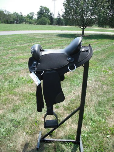 "Light Rider Endurance Saddle 18"" No Horn | eBay"