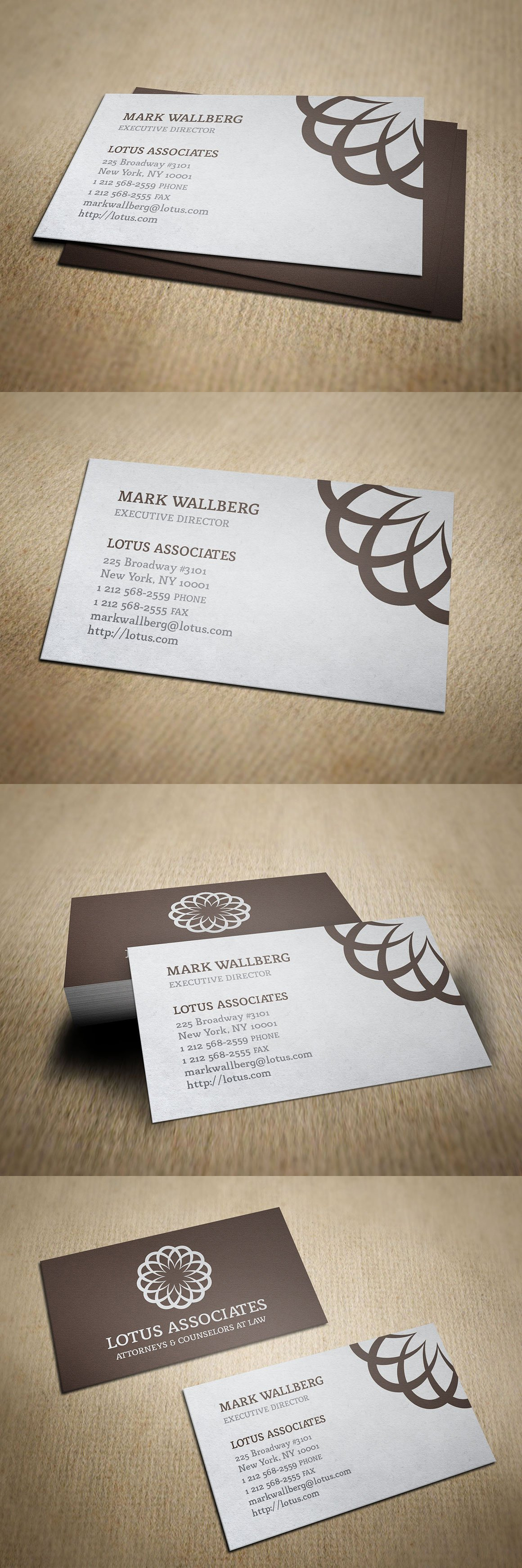 Vintage Law Firm Business Card | Business cards, Card templates and ...