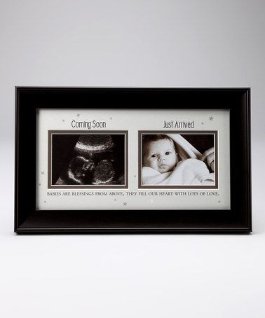 Take a look at this Brown \'Coming Soon\' Collage Photo Frame by Havoc ...