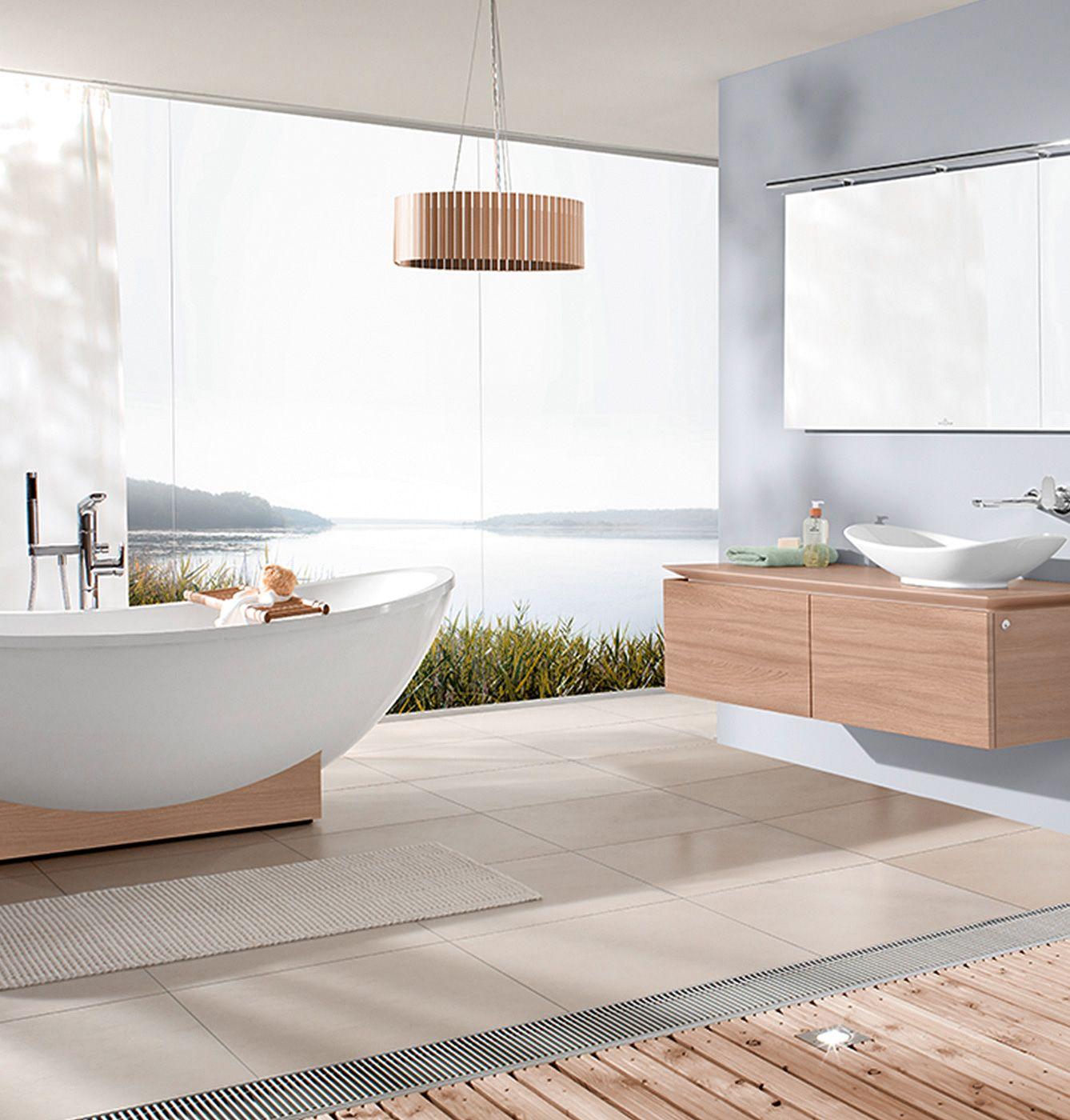 Verwandeln Sie Ihr Bad in eine Wellnessoase. Passend zum