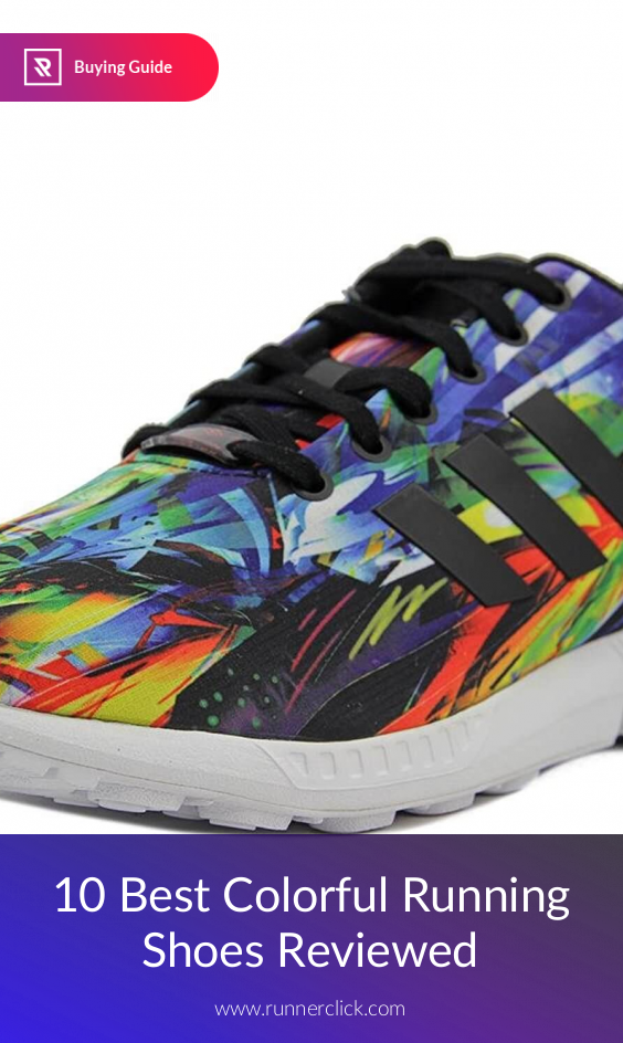 Colorful running shoes, Running shoe