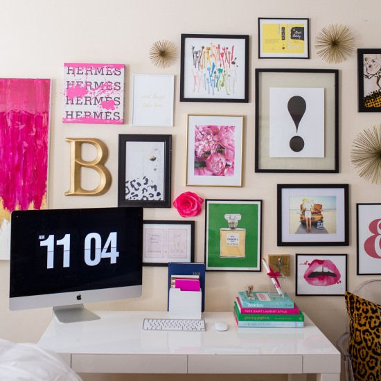 Kate Spade Gallery Wall Crafts Room Project Gallery Wall Room Home