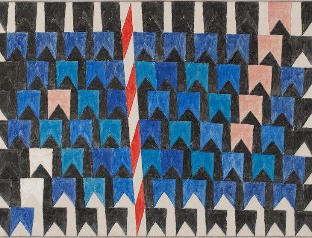Bandeirinhas E Mastros Decada De 1970 Alfredo Volpi 1896 1988
