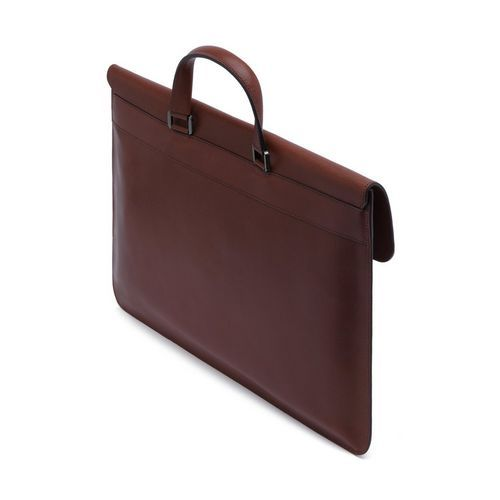 Mulberry - Farringdon Pushlock in Oxblood Archive Natural Leather ... 338cb95ce012d
