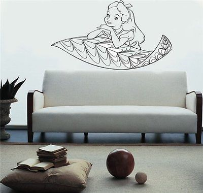 Alice in Wonderland Wall Mural Vinyl Decal Sticker 002 Products