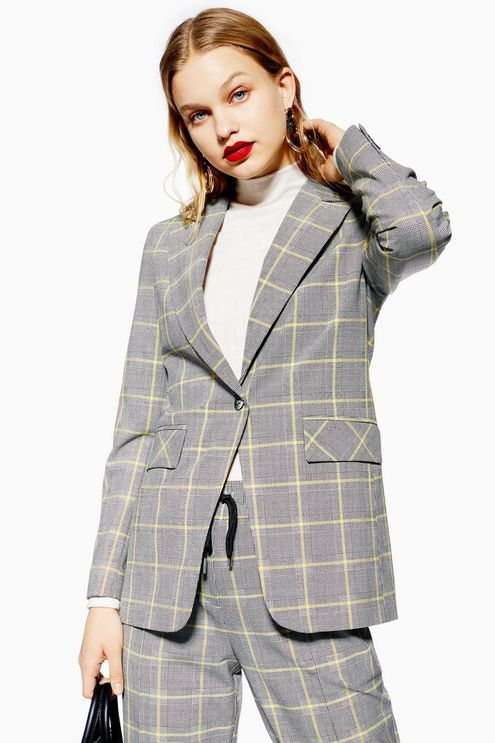66f008b090 Windowpane Check Suit in 2019 | w a r d r o b e | Jackets, Checked ...