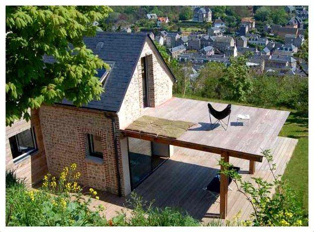 Casas de dos pisos con terraza arriba caba aita for Modelos de casas con terrazas modernas
